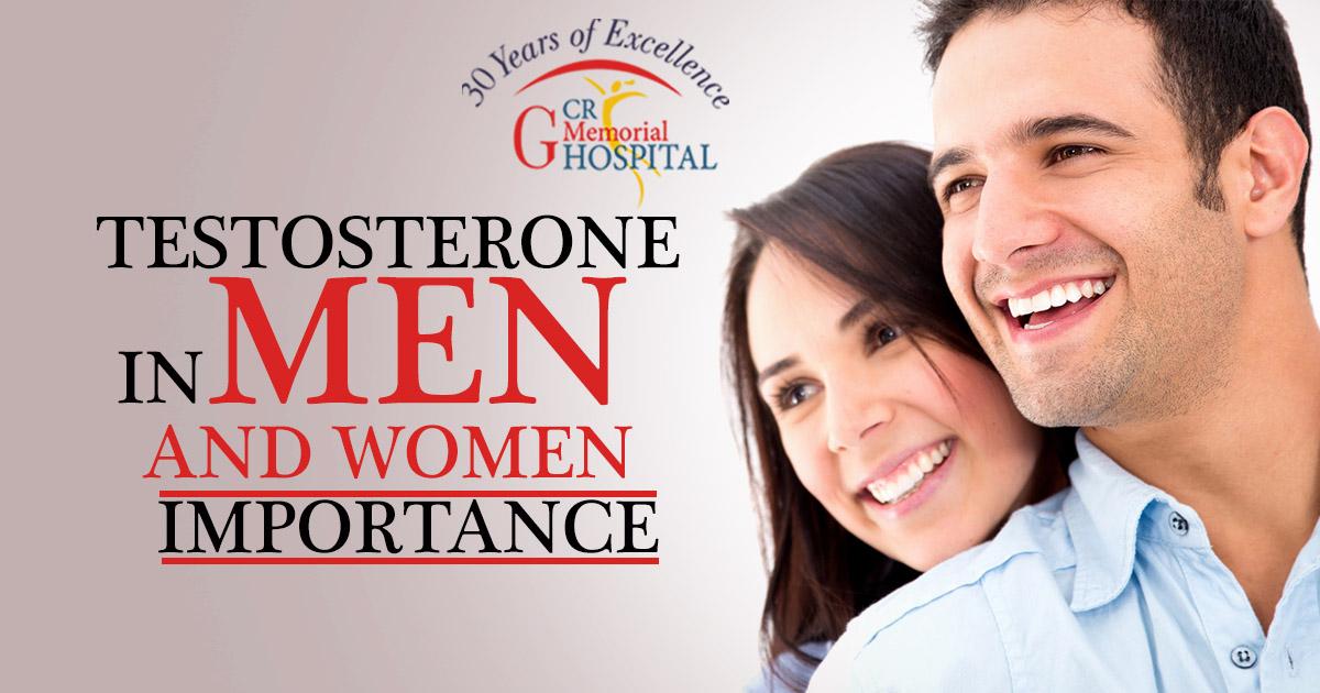 Testosterone In Men And Women – Importance