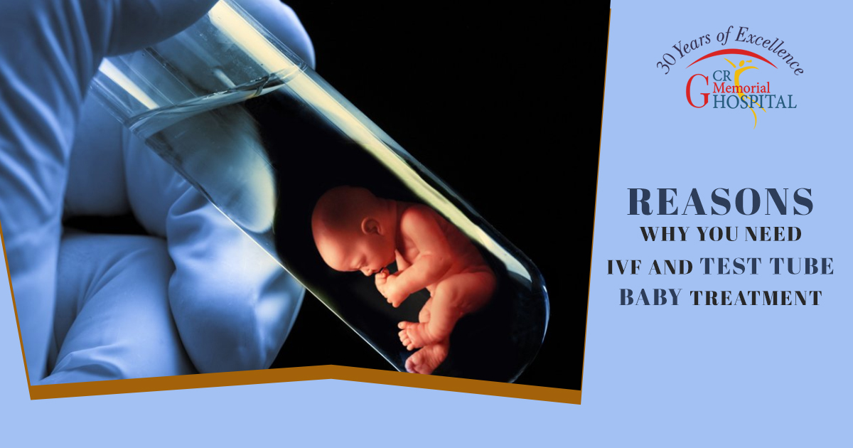 Reasons why you need IVF and Test tube baby treatment