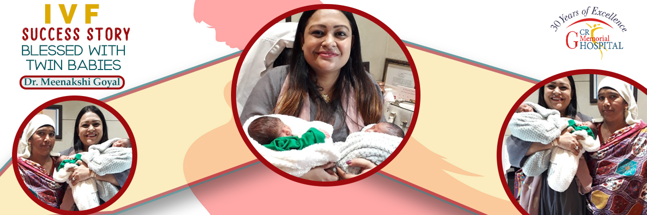 IVF Success Story - Blessed With Twin Babies - Dr. Meenakshi Goyal (1)