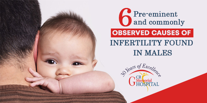 6 Pre-eminent and commonly observed causes of infertility found in males